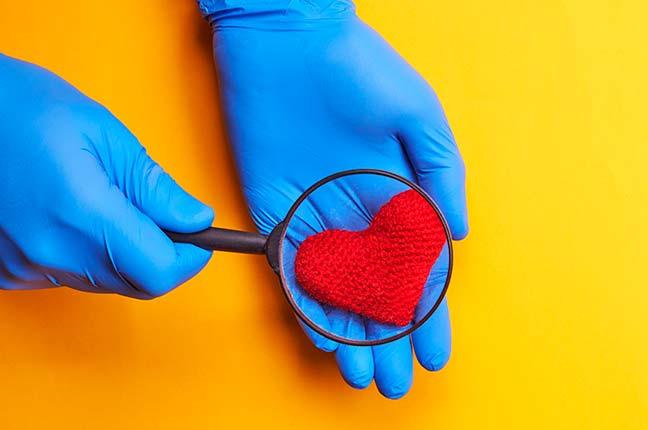 diagnóstico de coração