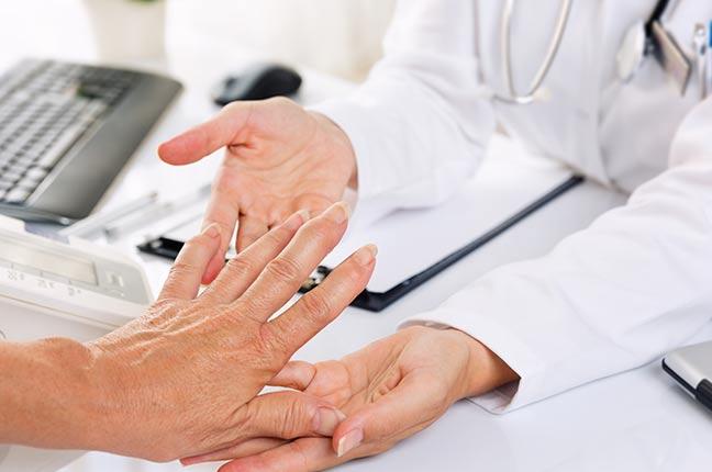 exame médico de artritre