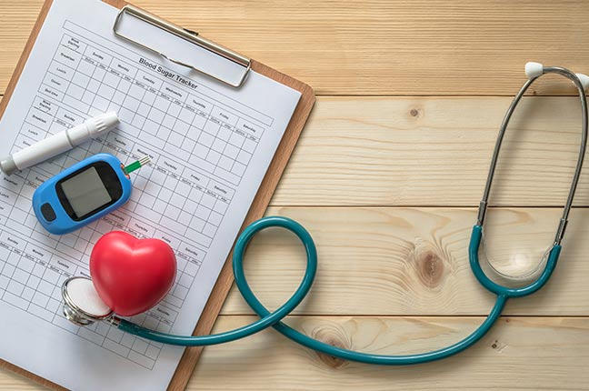 kit de ferramentas para diabete