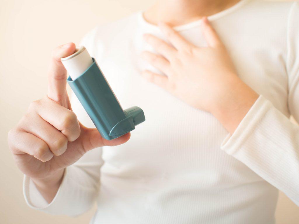 crise de asma, causas e tratamentos